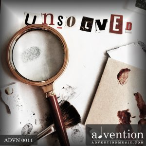 Cover of Compilation 11: Unsolved, by Advention Music LIbrary